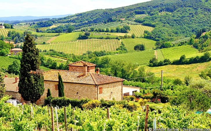 Ferienhäuser & Ferienwohnungen in Castellina in Chianti