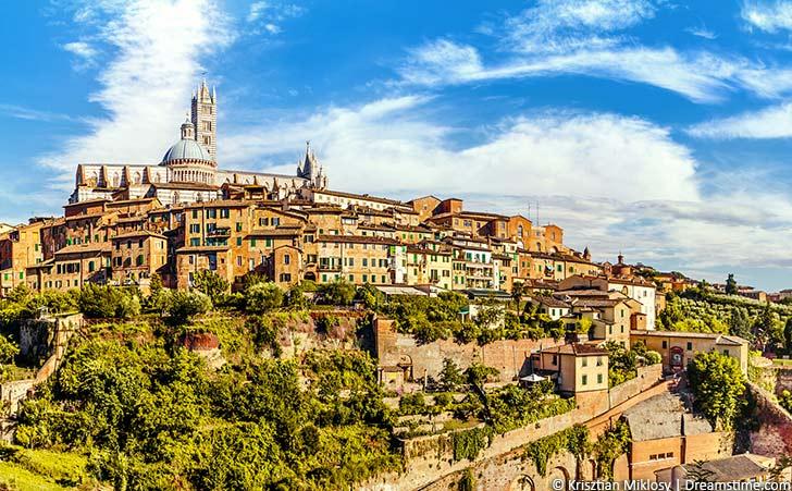 Ferienhäuser & Ferienwohnungen in Siena