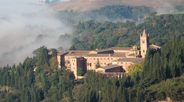 Die Abtei Monte Oliveto