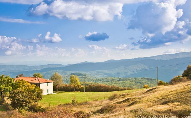 Ferienhäuser und Ferienwohnungen im Casentino