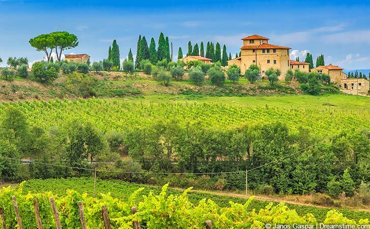 Ferienhäuser & Ferienwohnungen im Chianti