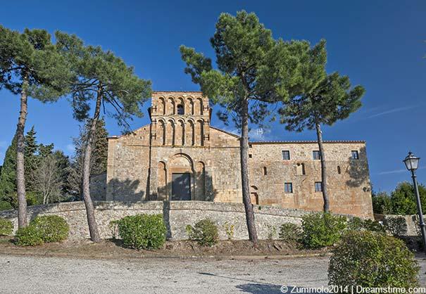 die Gemeindekirche in Gambassi Terme
