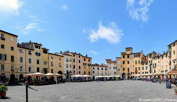Sehenswürdigkeiten von Lucca