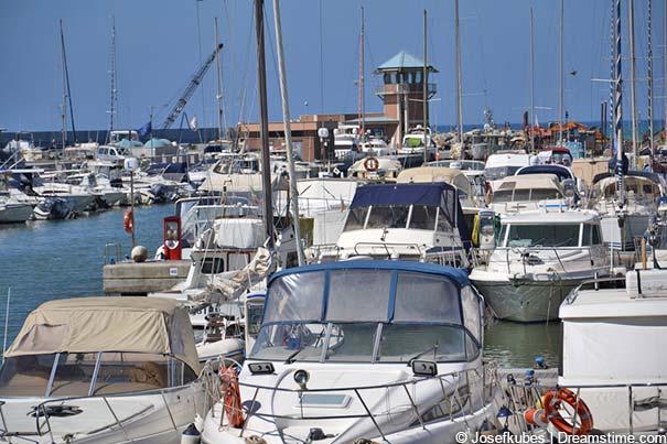 Der Jachthafen in Marina di Grosseto