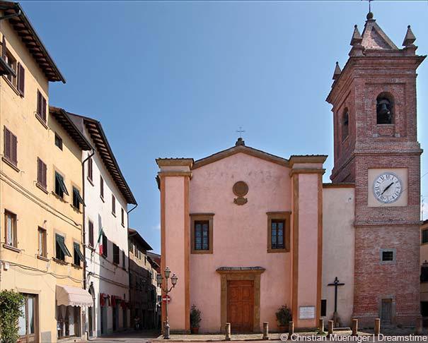 Die Kirche Chiesa di San Regolo