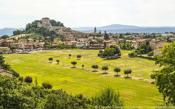 Sarteano - ein Städtchen mit bewegter Vergangenheit