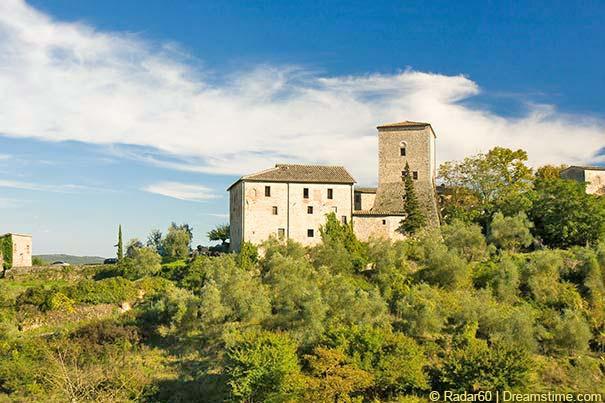 Das mittelalterliche Schloss