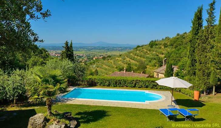 Ferienhaus für max. 14 Personen in Cortona