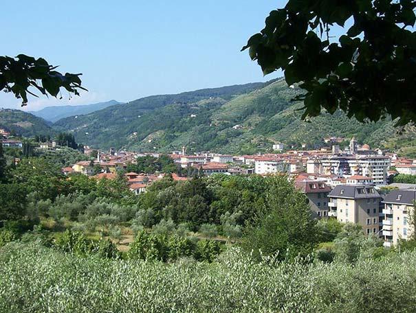 Die Umgebung von Pescia