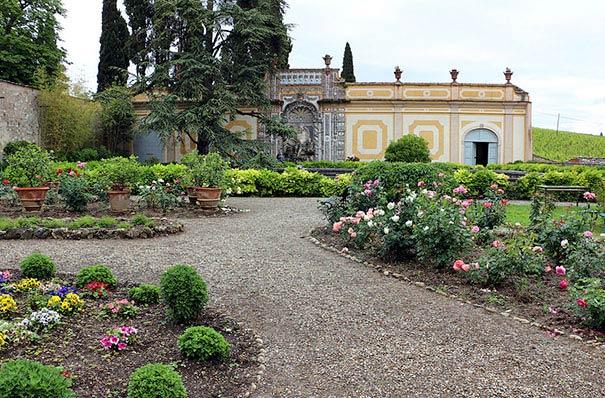 Der Garten der Villa del Cigliano