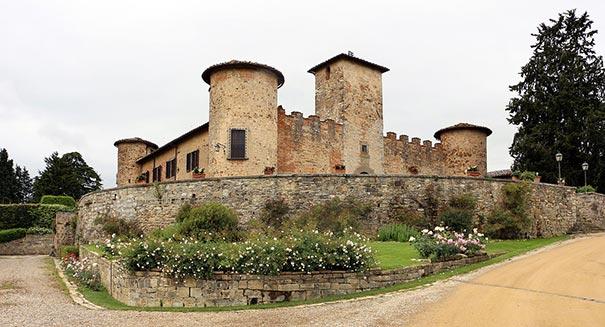 das Schloß Castello di Gabbiano