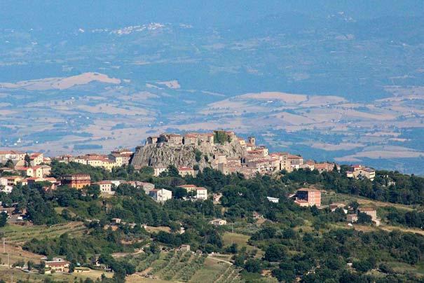 Panorama von Roccastrada