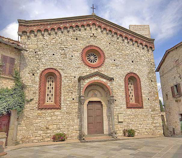 San Bartolomeo a Vertine in Gaiole in Chianti.