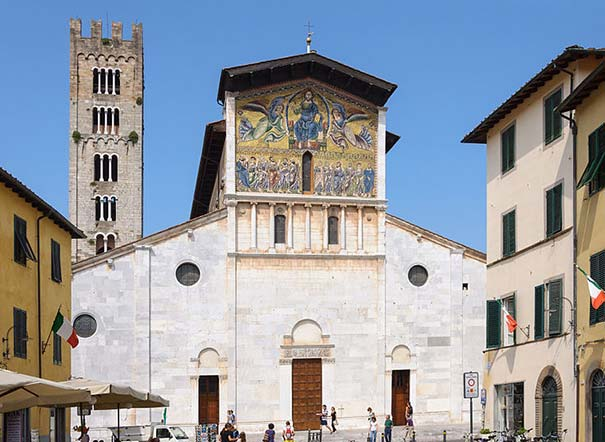 Die Kirche San Frediano in Lucca