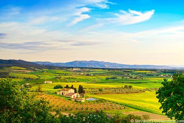 Faszinierende Landschaft von Maremma.