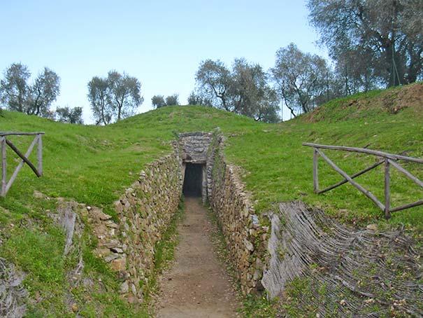 """Das Hügelgrab """"Teufelchen 2"""" bei Vetulonia"""