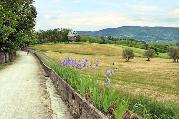 Park der Villa Medici von Pratolino