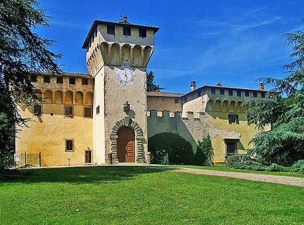 Die Villa Medici in Cafaggiolo in Cafaggiolo del Mugello