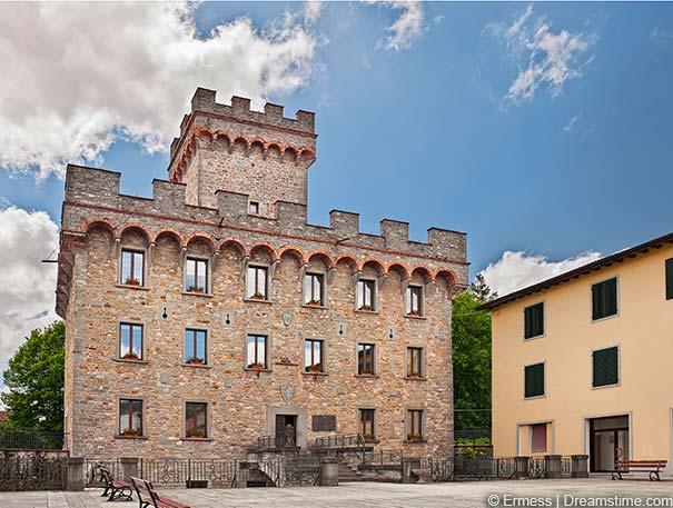 Der Palazzo Pretorio in Firenzuola
