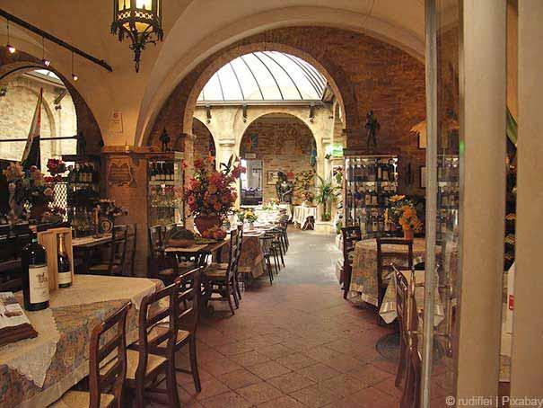 Pizzeria in San Gimignano