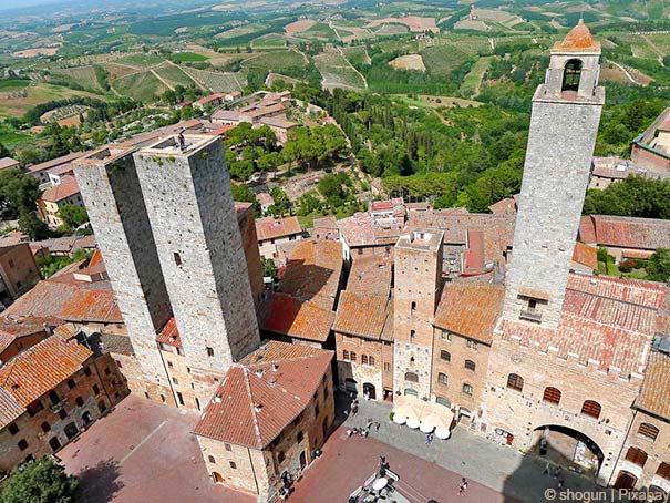 """""""Geschlechtertürme"""" in San Gimignano"""