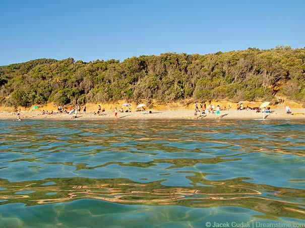 Das idyllische Örtchen Scarlino verfügt über eigenen Strand.