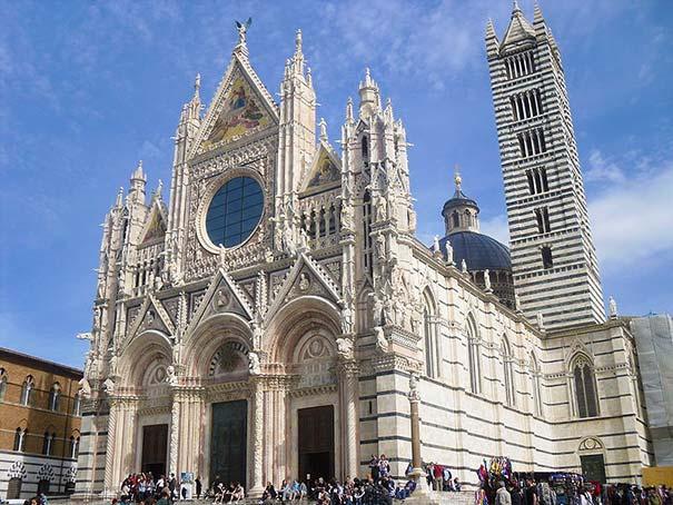 Der Dom von Siena.