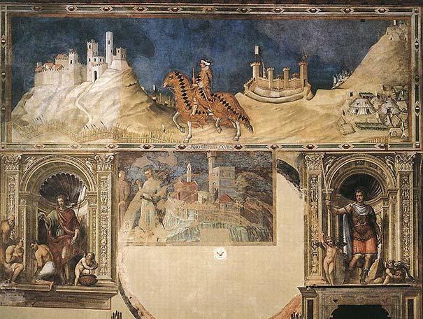 Die Fresken im Palazzo Pubblico