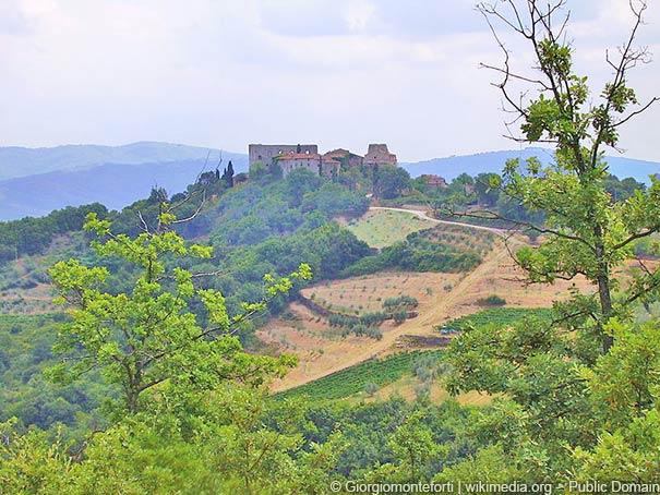 Castello di Cennina in Bucine