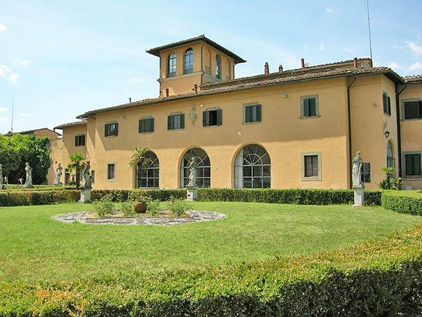 Villa di Meleto in Castelfiorentino