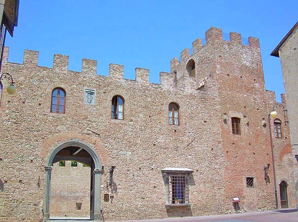 Certaldo Alto: Palazzo Stiozzi Ridolfi