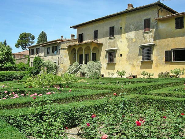 Villa Baldasseroni in Montespertoli