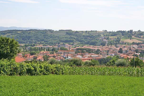 Panorama von Levane