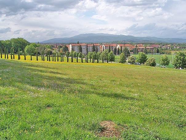 Toskanische Stadt Arezzo im Val di Chiana