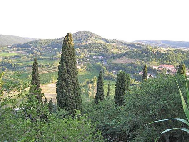 Landschaft nahe Montepulciano