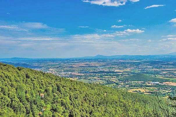 Val di Chiana: Panorama