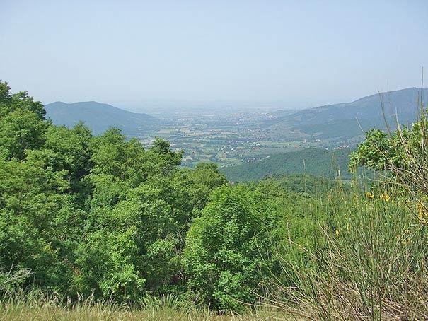 Blick über Val di Chiana