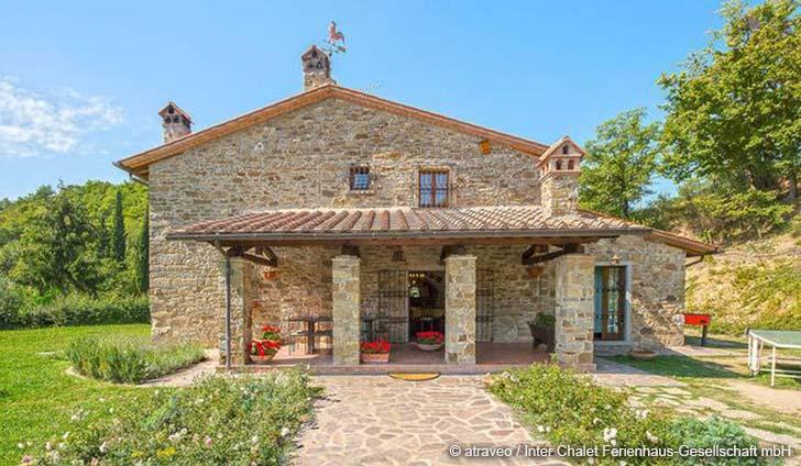 Ferienhaus in Arezzo für max. 10 Personen
