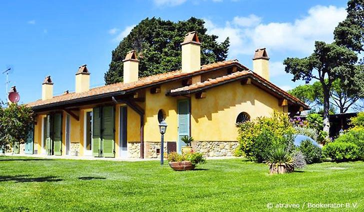 Ferienwohnung in Castagneto Carducci für max. 5 Personen