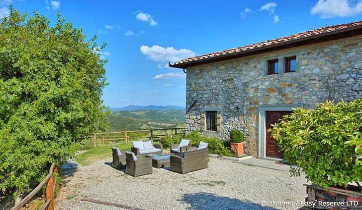 Ferienhaus im Chianti in einer eleganten Villa