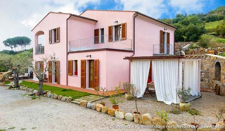 Ferienwohnung auf der Insel Elba in elegantem Landhaus