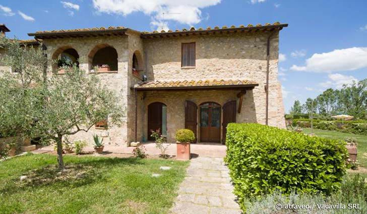 Ferienhaus in Colle di Val d'Elsa für max. 9 Personen