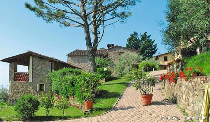 Ferienwohnung in Pescia für max. 5 Personen