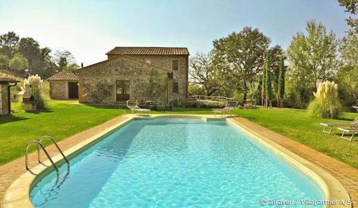 Ferienhaus in Sarteano inmitten der toskanischen Hügel