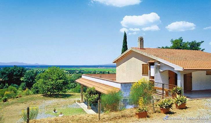 Ferienhaus in Scarlino nahe mediterranem Buschwald