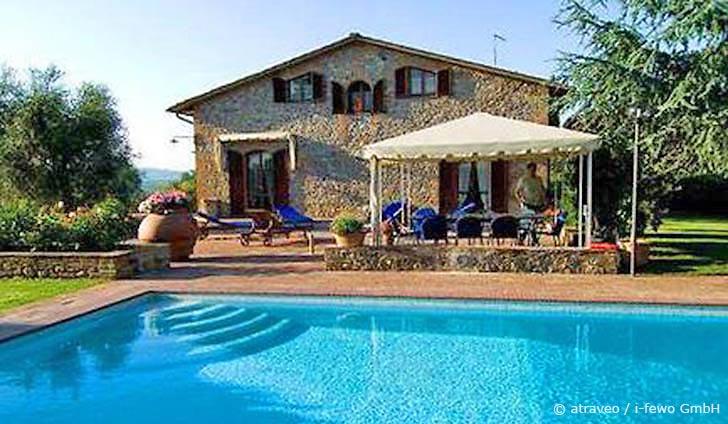 Ferienhaus in Siena mit schöner Aussicht auf die Chianti-Landschaft