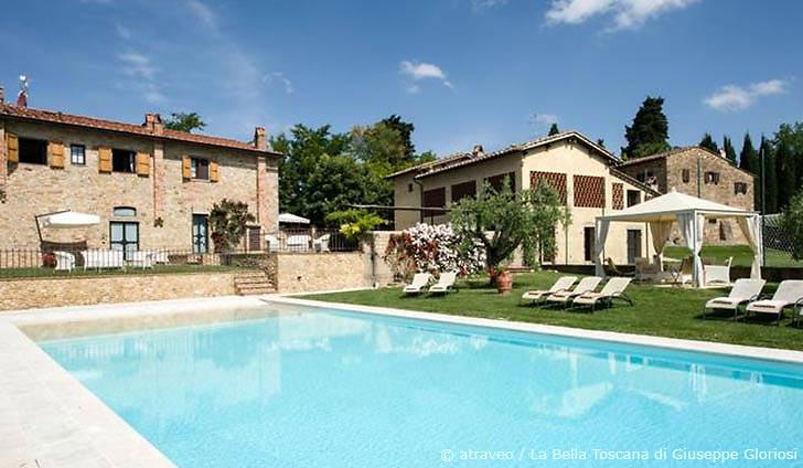 Ferienwohnung in Tavernelle Val di Pesa im Herzen des Chianti