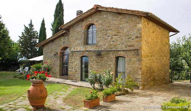 Ferienwohnung im Valdarno in imposantem Bauernhaus aus dem 17. Jahrhundert