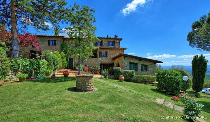 Ferienhaus im Valdarno in wunderschöner Villa