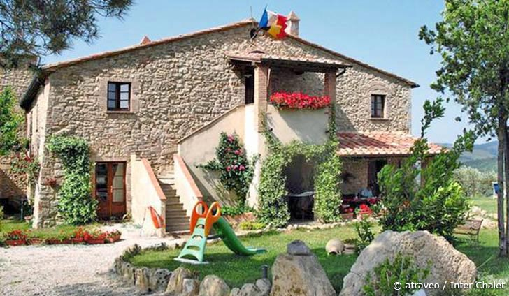 Typisch Toskana: Ferienwohnung in Volterra
